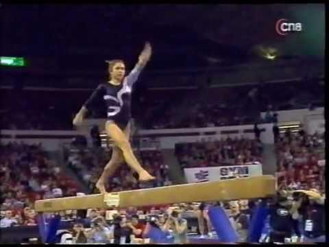 Courtney Kupets - 2007 Stanford vs UGA - Balance Beam