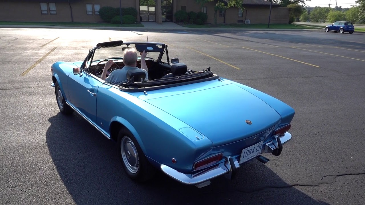 1969 Fiat 124 Spider At Bringatrailer Auctions Quick Drive Youtube Sport