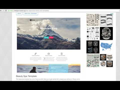 How To Download Free Web Templates - Free Html Website Templates Download
