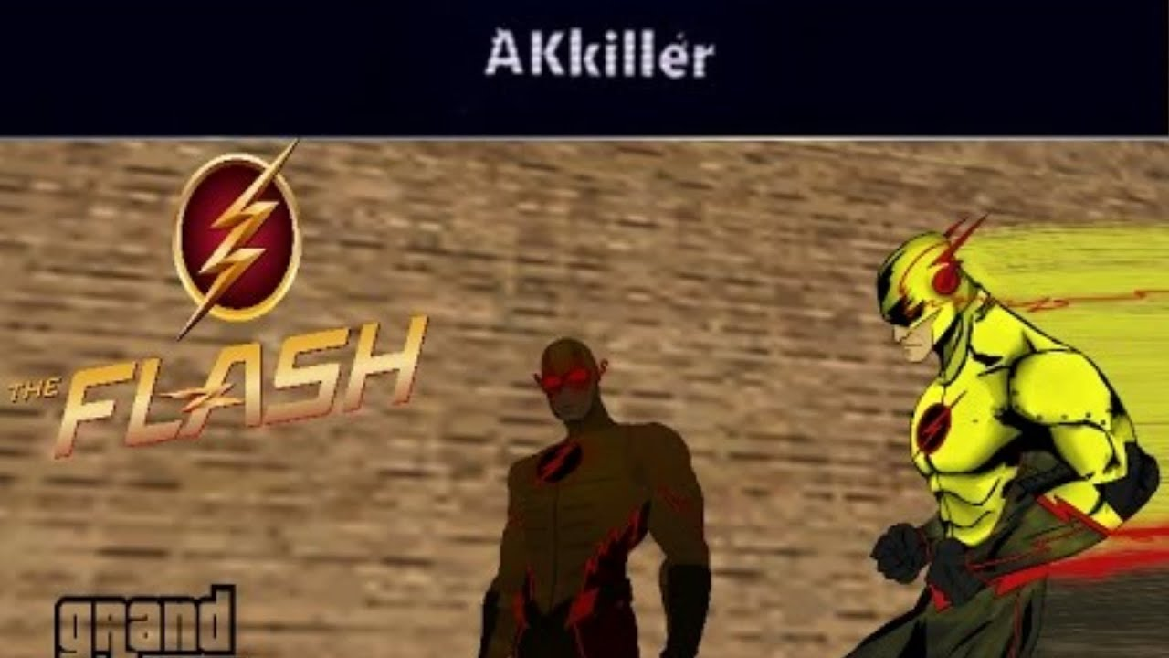 Grand Theft Auto San Andreas Mods Skin Reverse Flash Eobard - Skin para minecraft do zoom