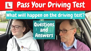 Lily's driving test Q & A