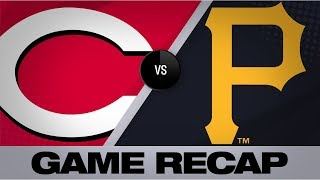 Reyes' walkoff single lifts Pirates in 9th | Reds-Pirates Game Highlights 8/23/19
