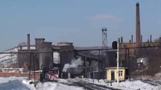 Steam of Jixi Coal Mine Railway China(Jan.2011) 1 中国・鶏西炭鉱鉄道の蒸気機関車(2011年1月) 1
