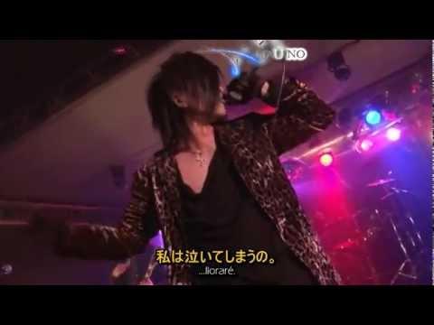 the underground black rock - Sentimental Last Scene Live [Sub. Español + KARAOKE]