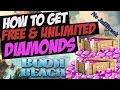 BOOM BEACH FREE DIAMONDS! GET UNLIMITED FREE DIAMONDS IN BOOM BEACH! 2018 (NO HACK CHEAT)