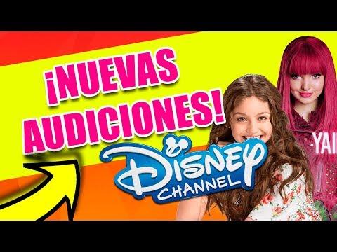 ¡NUEVAS AUDICIONES DISNEY CHANNEL! - CASTING DISNEY