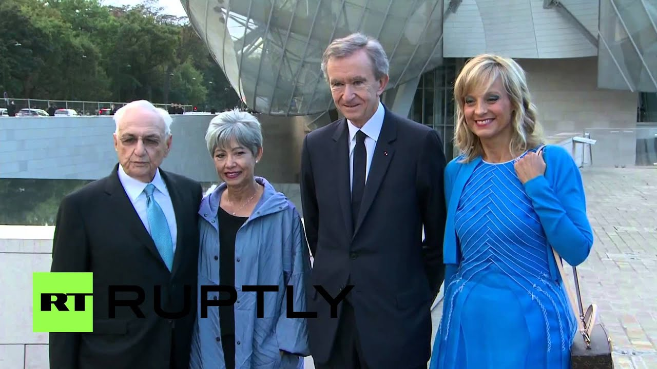Berta Isabel Aguilera france: 100 million euro 'louis vuitton fondation' art museum