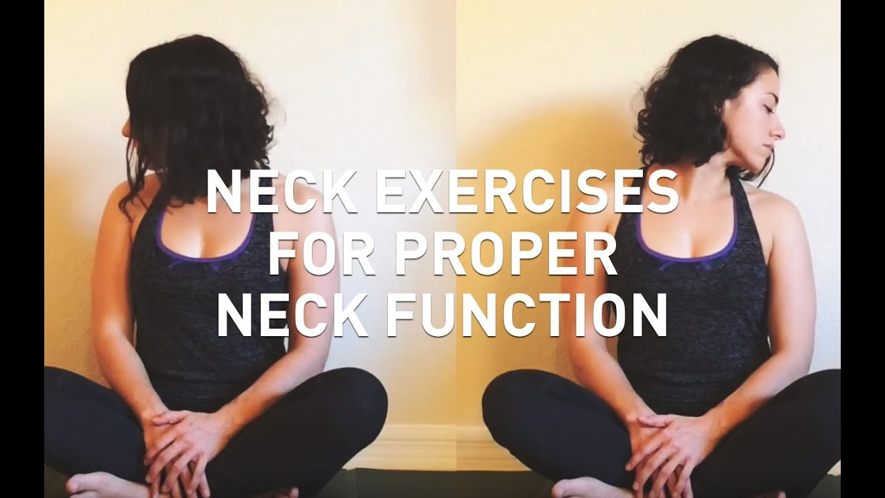 Exercises for the neck. Health of the neck and spine 73