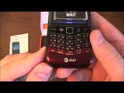 BlackBerry Pearl 3G Unboxing
