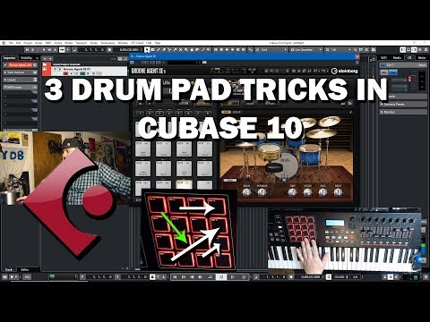 Cubase 10 Tutorial - 3 Ways to Reassign Drum Pads