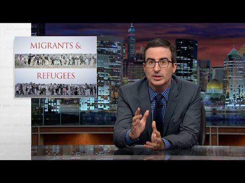 Thumbnail: Migrants and Refugees: Last Week Tonight with John Oliver (HBO)