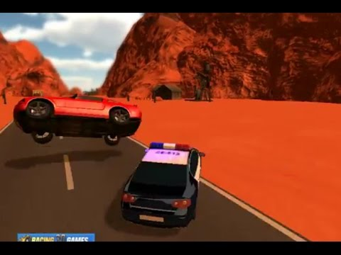 Desert Run Police Unity 3D Games - Car Online Video Flash