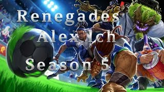 RNG Alex lch Gragas MID vs Malzahar Season 5 Patch 5.12