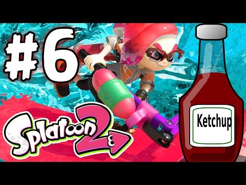 Splatoon 2 - Part 6 - Missed The Ketchup! (Nintendo Switch)