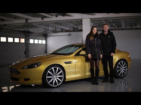 Aston Martin DB9 - SportVerda (Kutasi Kelly, Tordai István)