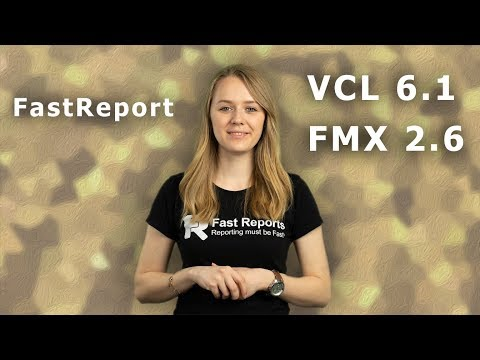 FastReport VCL 6.1 And New FastReport FMX Are Out!