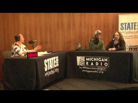 "Michigan Radio Stateside - ""Live in Flint"" 4/22/2017 - Laura McIntyre & Camryn Banks - 6 of 7"