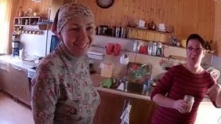 Поездка к Дмитрию и Татьяне часть 1// Из города в деревню