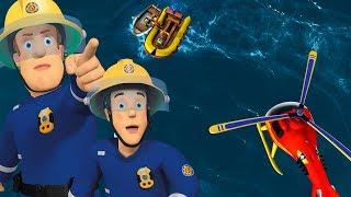 Brandweerman Sam Nederlands | Oceaan Reddingen 🔥  Nieuwe Afleveringen