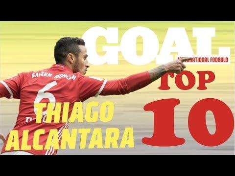 GOAL's TOP 10 - Thiago Alcântara