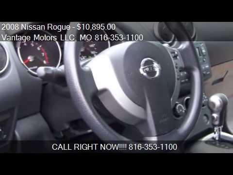 2008 Nissan Rogue SL FWD CARFAX GUARANTEE LOADED GREAT MPG