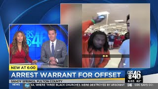 Felony arrest warrant issued for Rapper Offset