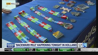 'Backward Mile' in Holland aimed at inspiring those fighting illness