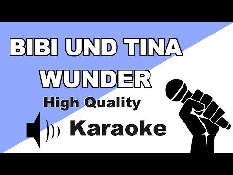 🔴🎤Bibi & Tina - Wunder (Karaoke/Instrumental) zum Mitsingen mit Songtext🎤🔴