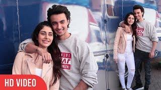 Loveratri Cute Couple Sushrut &  Michelle | Spotted | Aayush Sharma & Warina Hussain