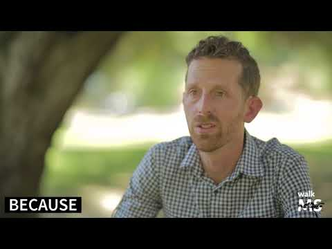 Eric talks about what Walk MS means to him