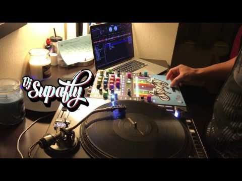 Bruno Mars - REMIX / MASHUP 24k Magic, Jackson 5 & Bee Gees DJ Supafly Live using Turntable 🎼🎵🔊❤