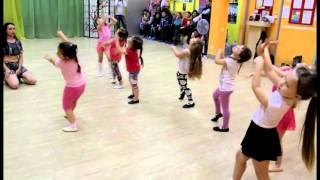 Восточные танцы и классическая хореография. Дети 4-6 лет. Открытый урок для родителей.