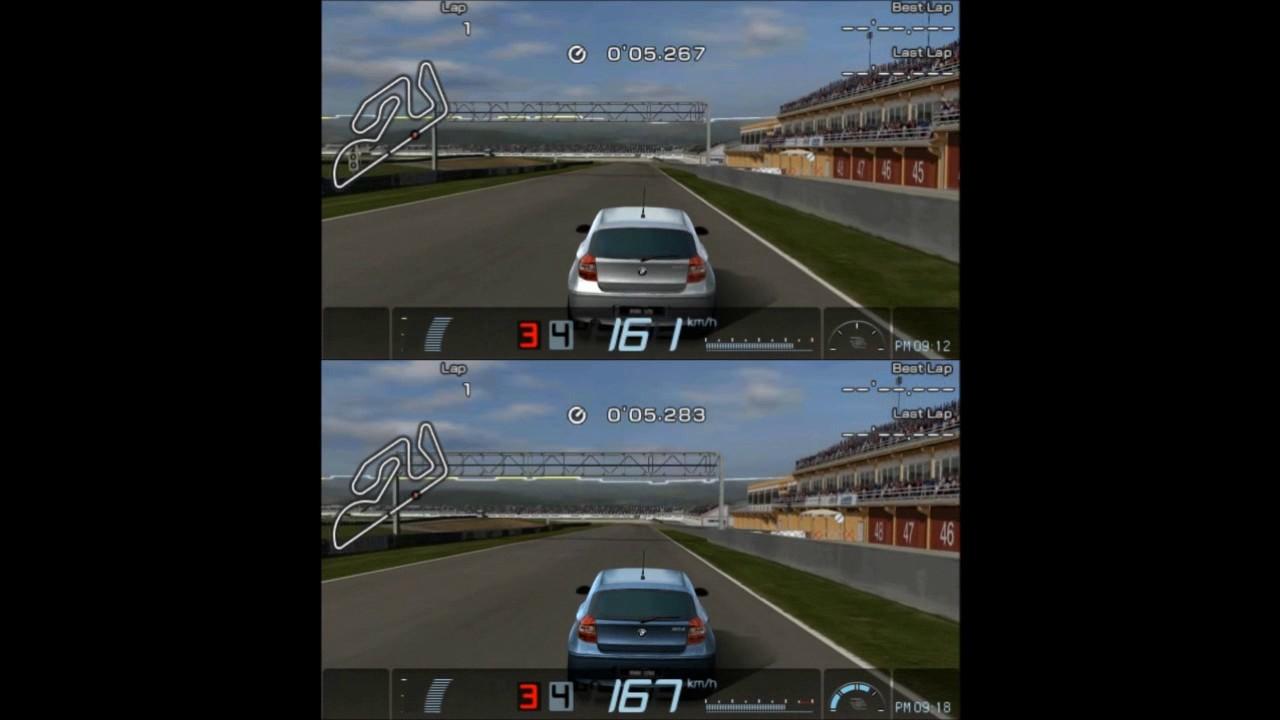 Gran Turismo Psp Petrol Vs Diesel Battle Bmw 120i Vs 120d Youtube