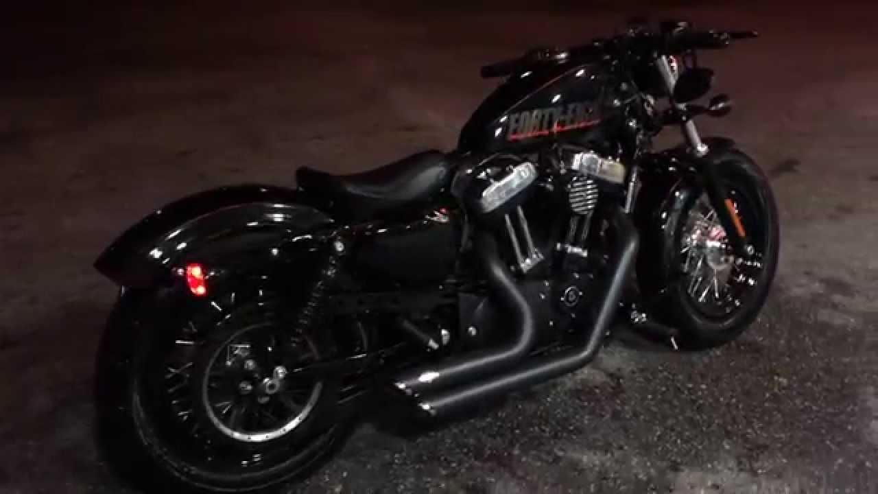Harley Davidson Sportster Forty Eight Xl1200x 48 Youtube