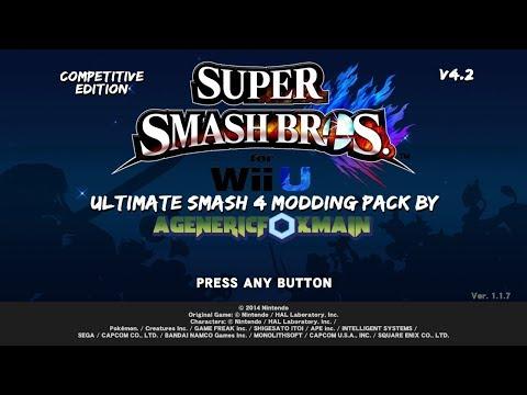 US4MP] Ultimate Smash 4 Modding Pack! v4 4! [Super Smash