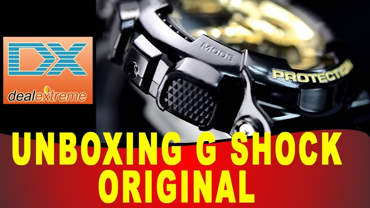 9d632cfb5e3 Unboxing DX DealExtreme Casio G Shock ORIGINAL - Envio Direto para Brasil