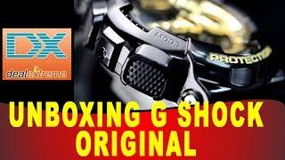 Unboxing DX DealExtreme Casio G Shock ORIGINAL - Envio Direto para Brasil