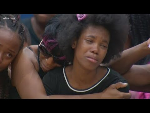 Community mourns death of 9-year-old killed in crossfire and demand seven days of peace
