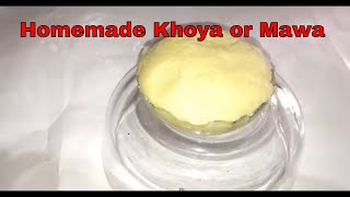 How to make Mawa or Khoya at home // Instant Homemade Khoya or Mawa #105