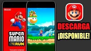 SUPER MARIO RUN ¡YA DISPONIBLE! | Pronto en Android | Tu Android Personal