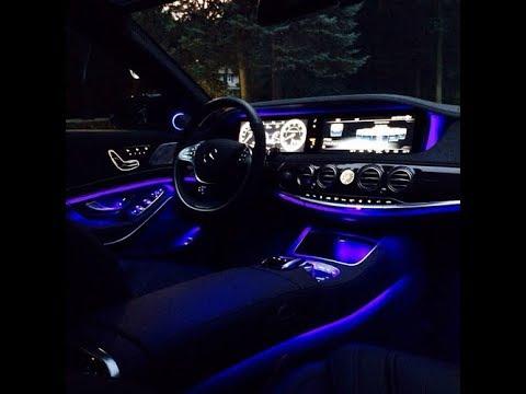 2017 Mercedes E220D Ambient Light Settings - YouTube