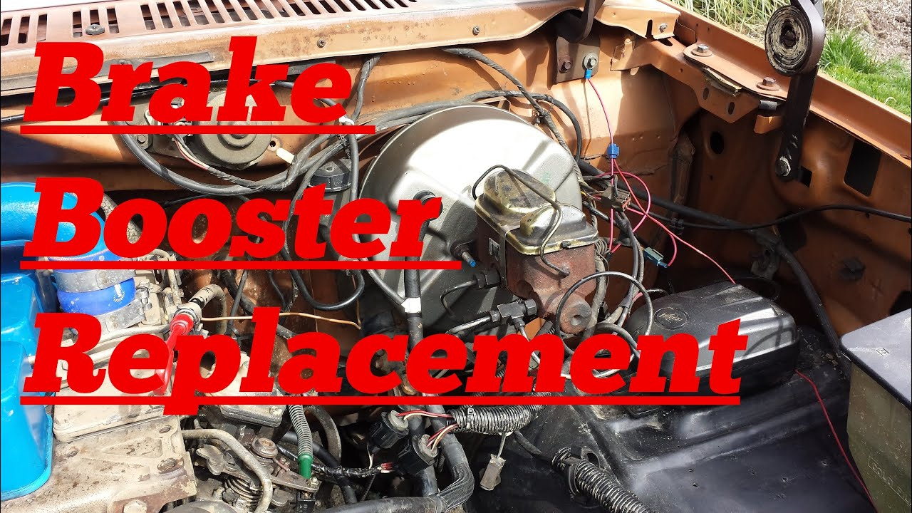 1980s Ford F Series Brake Booster Replacement Youtube 73 250 Wiring