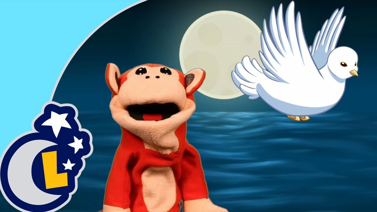 Palomita Blana, Copetico Azul. El Mono Sílabo Canta Canciones de Cuna para Dormir Bebés