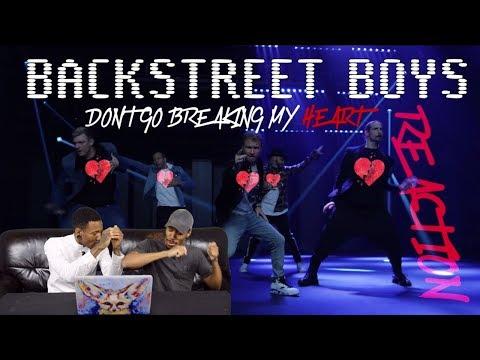 Backstreet Boys - Don't Go Breaking My Heart REACTION!