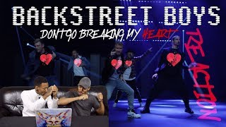 Baixar Backstreet Boys - Don't Go Breaking My Heart REACTION!