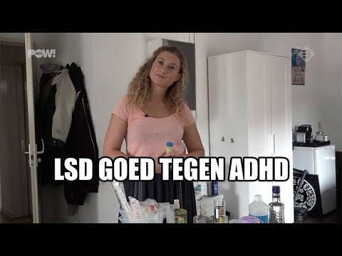 LSD superactief tegen ADHD