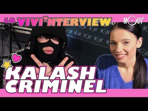 Youtube: KALASH CRIMINEL:«Je me confie tout le temps à ma maman, elle a kiffé mon album»