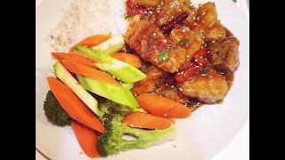 Orange Salmon With Garlic & Ginger Gf Panda Express