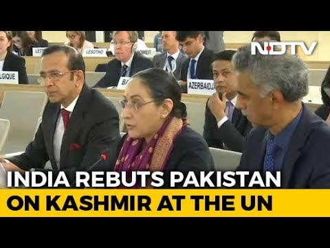"""""""Fabricated Narrative By Pakistan"""": India On Kashmir At UN Rights Body"""
