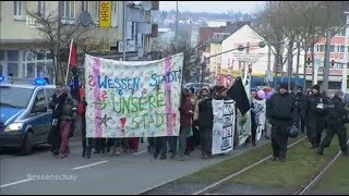 Demo gegen Entmietung in Kassel